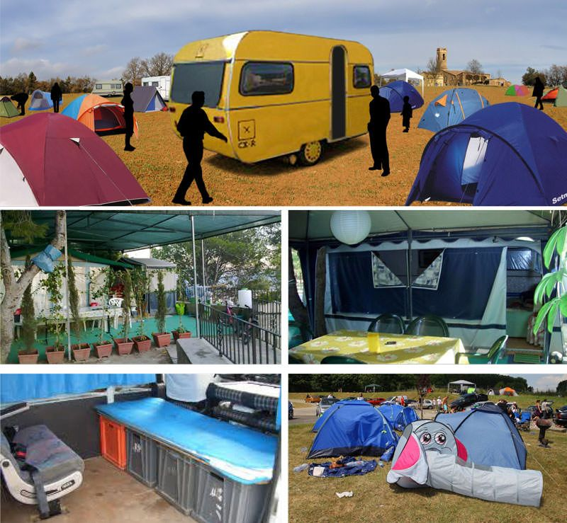 camping, caravaning,arquitecturing iD_Ceci