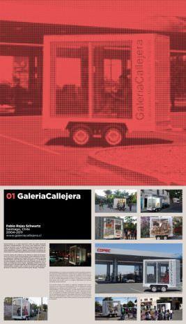 """Imagen de """"Galeria Callejera"""" uno de  los proyectos presentados en la exposición"""